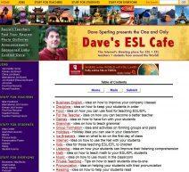 Dave ESL cafe